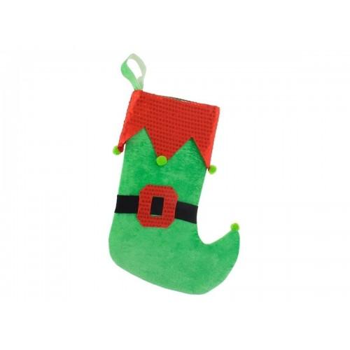 Kalėdinė Elfo dovanų kojinė