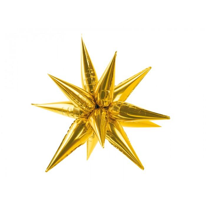 Auksinė žvaigždė 3D