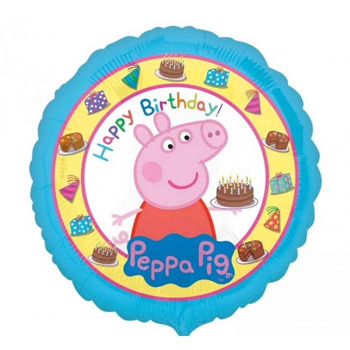 Peppa Pig - Happy birthday