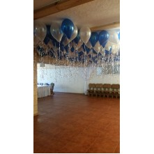 200 helio balionų