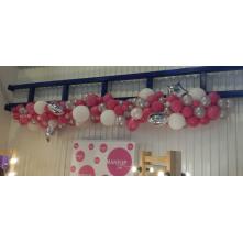 Nestandartinė balionų girlianda