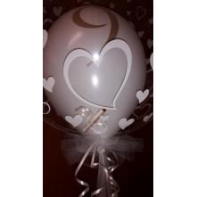 Balionas-bablas su balionu ir dovana (50 eur.) viduje