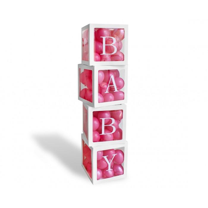 """Balionų dekoravimo dėžutės ,,BABY"""""""