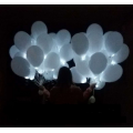 Balionas su LED lempute