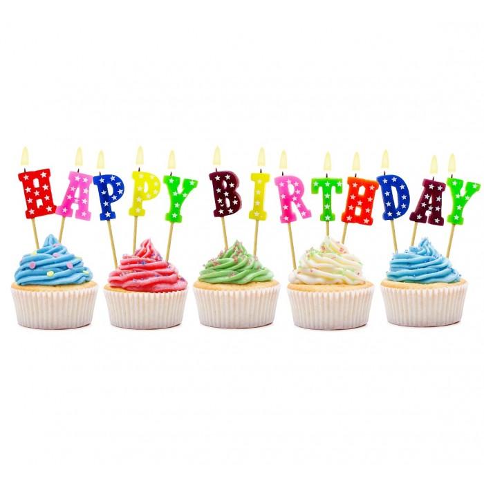 """Žvakutės """"Happy Birthday"""""""